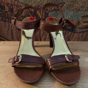 Ankle strap Ralph Lauren sandals